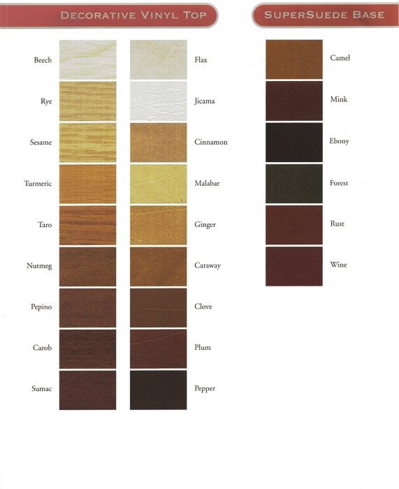 Table Pad Colors