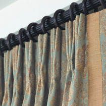 Café Curtains French Pleated - Custom Made Drapes