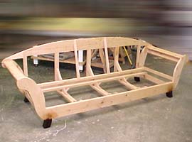 sofa frame - Wood Frame Couch